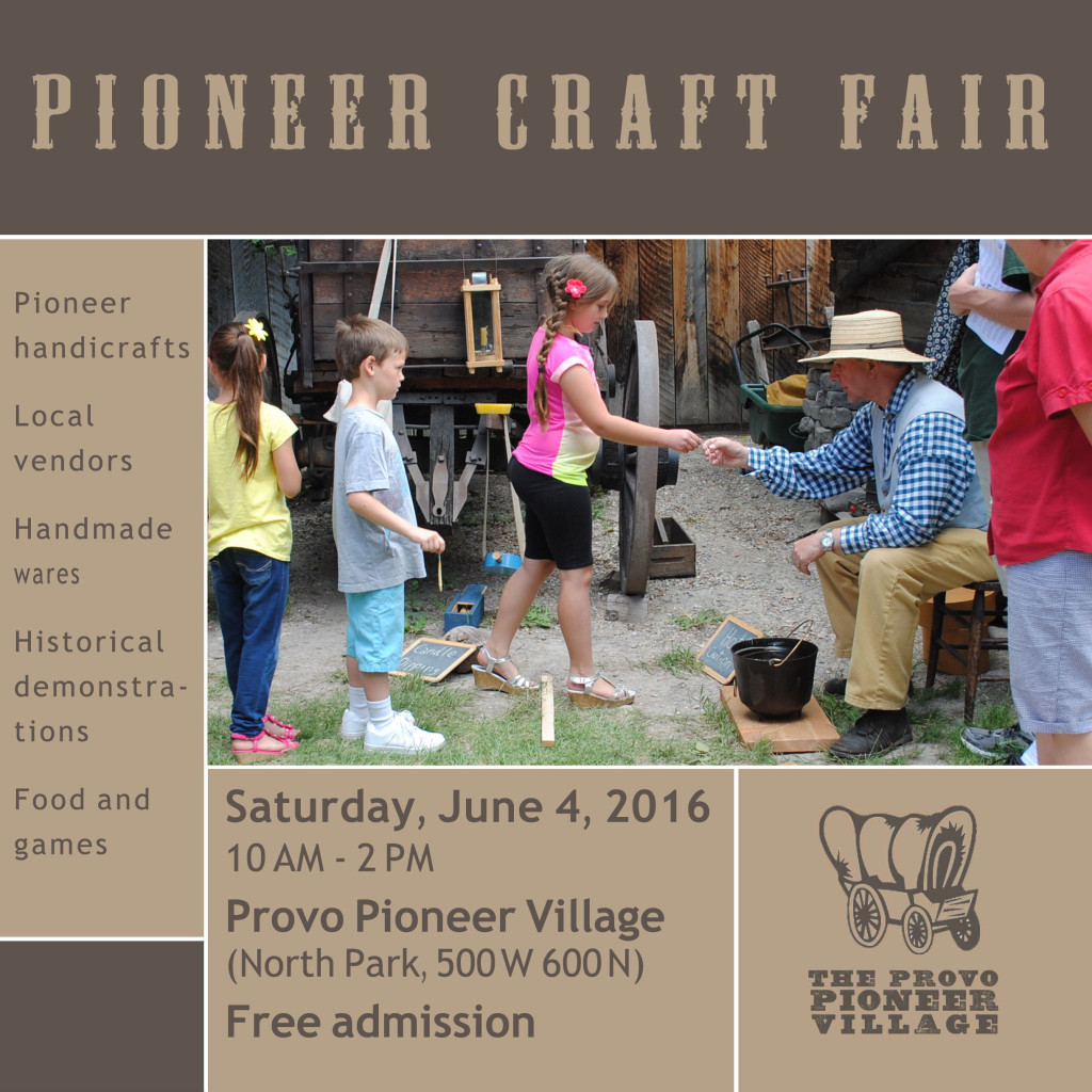 Pioneer Craft Fair Ad